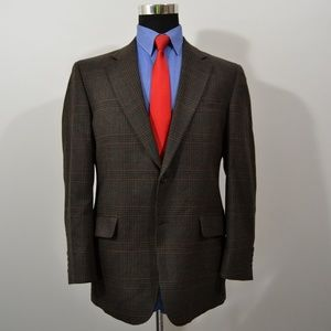 Jos A Bank 40S Sport Coat Blazer Suit Jacket Brown